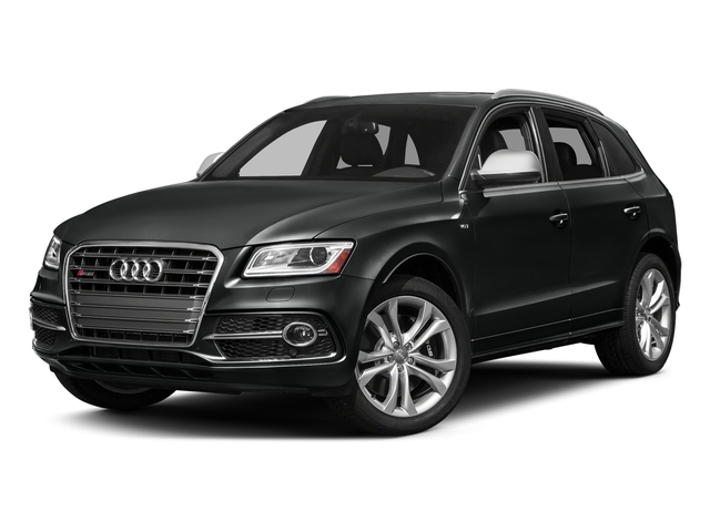Mythos Black Metallic 2017 Audi SQ5 Pictures SQ5 Utility 4D Prestige AWD V6 photos front view