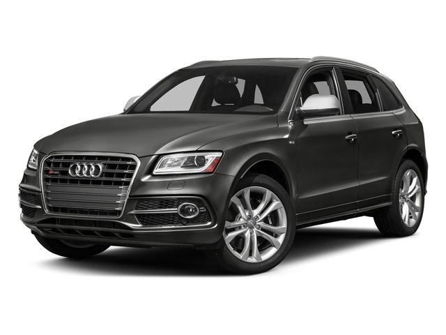 Lava Gray Pearl Effect 2017 Audi SQ5 Pictures SQ5 Utility 4D Premium Plus AWD V6 photos front view