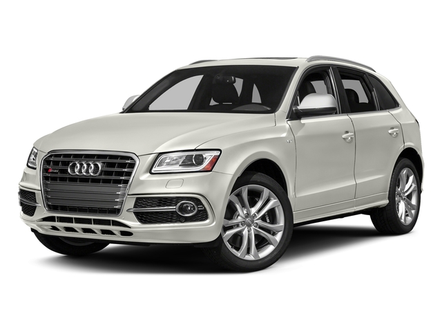 Ibis White 2017 Audi SQ5 Pictures SQ5 Utility 4D Prestige AWD V6 photos front view
