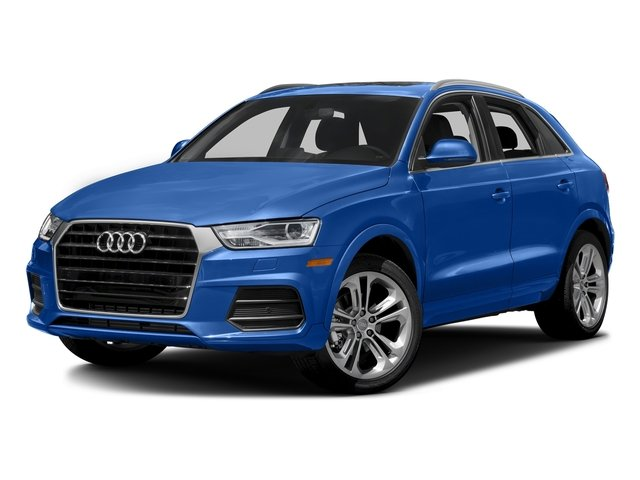 Hainan Blue Metallic 2017 Audi Q3 Pictures Q3 2.0 TFSI Premium quattro AWD photos front view