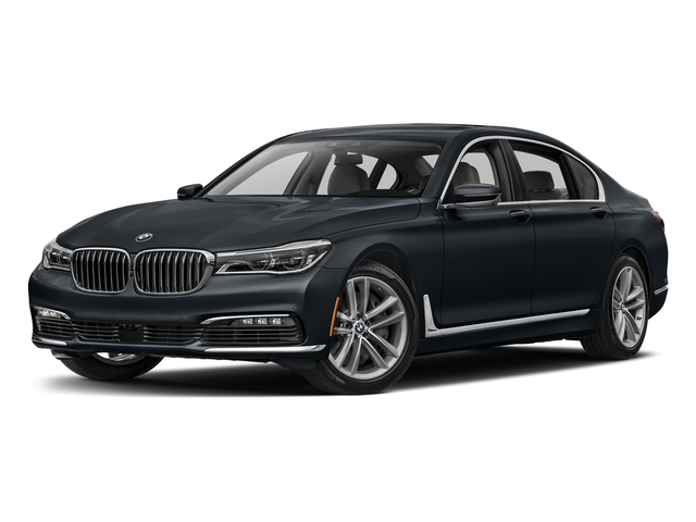 Carbon Black Metallic 2017 BMW 7 Series Pictures 7 Series Sedan 4D 750xi AWD Turbo photos front view