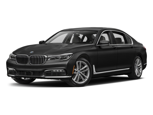 Black Sapphire Metallic 2017 BMW 7 Series Pictures 7 Series Sedan 4D 750xi AWD Turbo photos front view