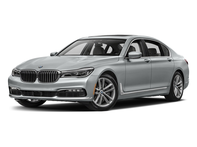 Glacier Silver Metallic 2017 BMW 7 Series Pictures 7 Series Sedan 4D 750xi AWD Turbo photos front view