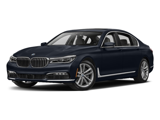 Imperial Blue Metallic 2017 BMW 7 Series Pictures 7 Series Sedan 4D 750xi AWD Turbo photos front view