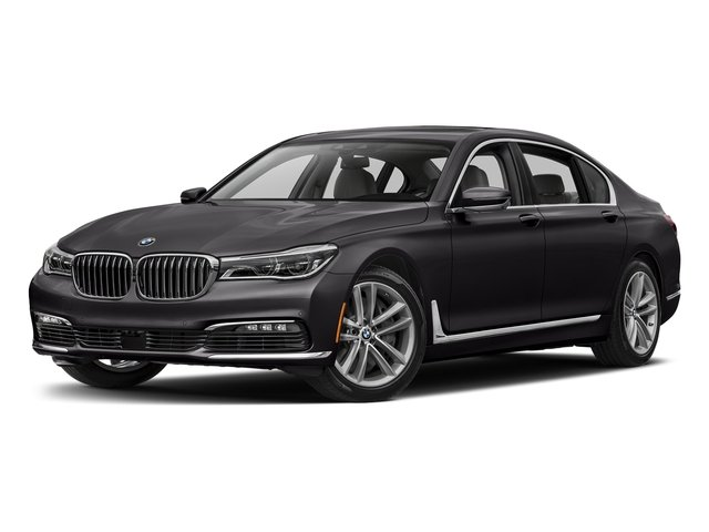 Ruby Black Metallic 2017 BMW 7 Series Pictures 7 Series Sedan 4D 750xi AWD Turbo photos front view