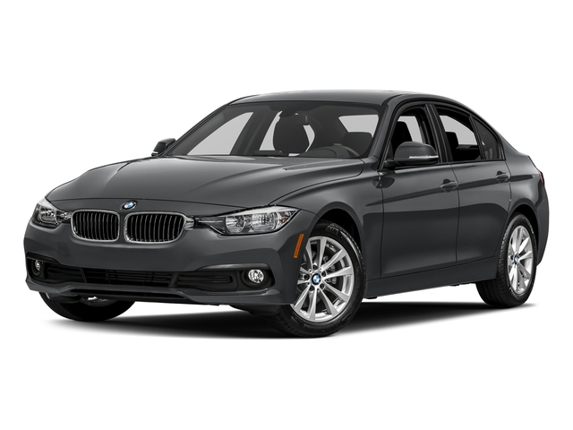 Mineral Gray Metallic 2017 BMW 3 Series Pictures 3 Series Sedan 4D 320i I4 Turbo photos front view