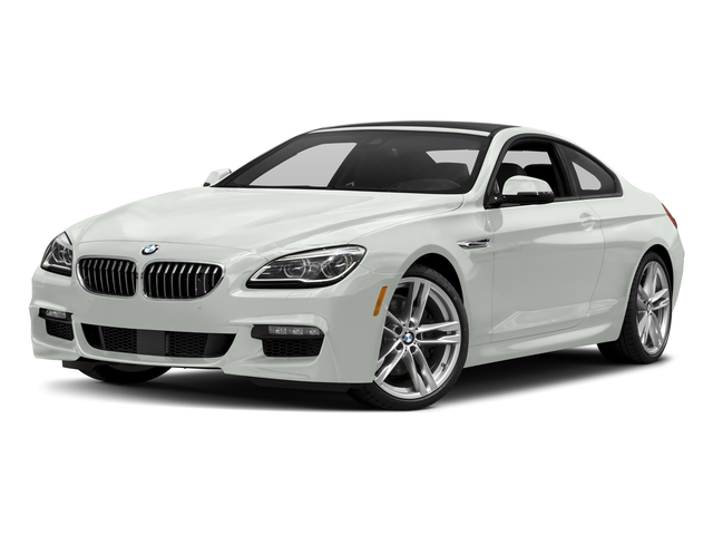 Alpine White 2017 BMW 6 Series Pictures 6 Series Coupe 2D 650i V8 photos front view