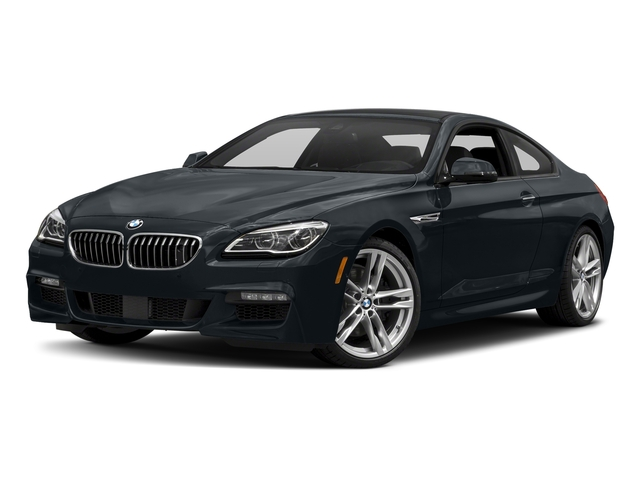 Carbon Black Metallic 2017 BMW 6 Series Pictures 6 Series Coupe 2D 650i V8 photos front view