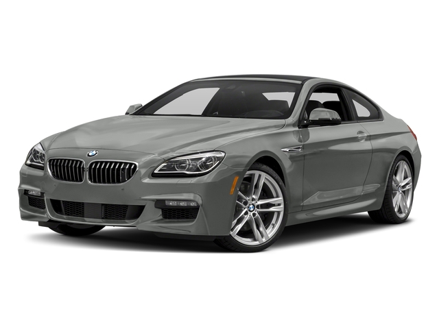 Space Gray Metallic 2017 BMW 6 Series Pictures 6 Series Coupe 2D 650i V8 photos front view