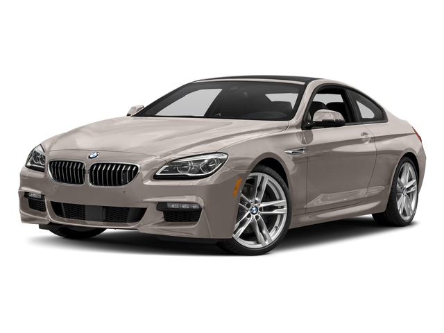 Cashmere Silver Metallic 2017 BMW 6 Series Pictures 6 Series Coupe 2D 650i V8 photos front view