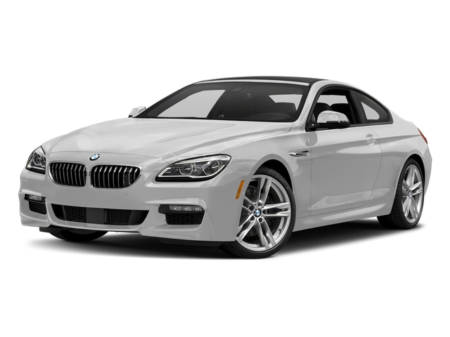 Mineral White Metallic 2017 BMW 6 Series Pictures 6 Series Coupe 2D 650i V8 photos front view