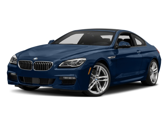 Mediterranean Blue Metallic 2017 BMW 6 Series Pictures 6 Series Coupe 2D 650i V8 photos front view