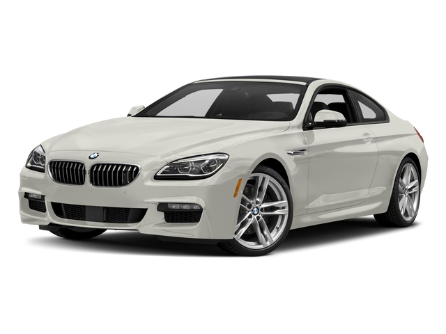 Frozen Brilliant White Metallic 2017 BMW 6 Series Pictures 6 Series Coupe 2D 650i V8 photos front view