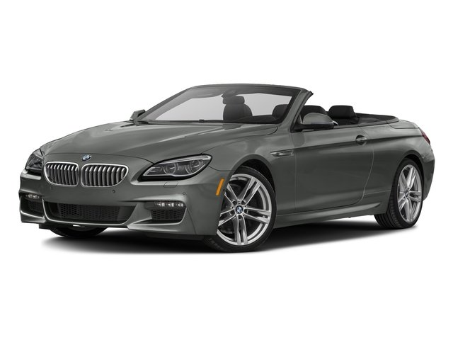 Space Gray Metallic 2017 BMW 6 Series Pictures 6 Series Convertible 2D 650i V8 photos front view