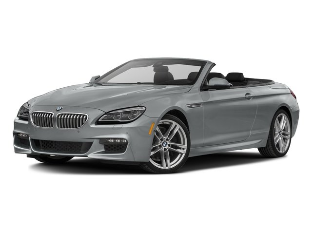 Glacier Silver Metallic 2017 BMW 6 Series Pictures 6 Series Convertible 2D 650i V8 photos front view