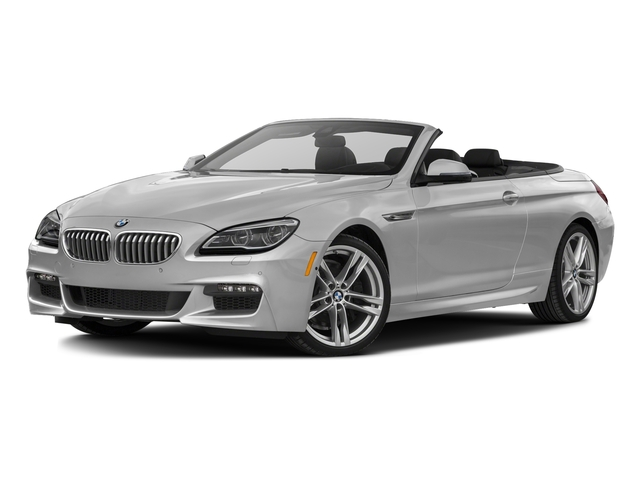 Mineral White Metallic 2017 BMW 6 Series Pictures 6 Series Convertible 2D 650i V8 photos front view