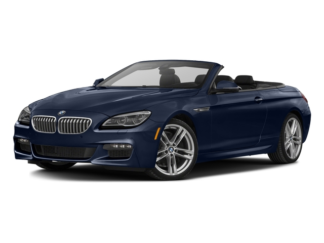 Tanzanite Blue Metallic 2017 BMW 6 Series Pictures 6 Series Convertible 2D 650i V8 photos front view