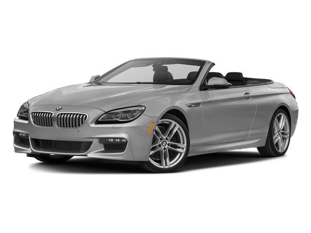 Frozen Brilliant White Metallic 2017 BMW 6 Series Pictures 6 Series Convertible 2D 650i V8 photos front view