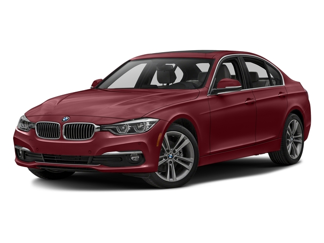 Melbourne Red Metallic 2017 BMW 3 Series Pictures 3 Series Sedan 4D 328d I4 T-Diesel photos front view