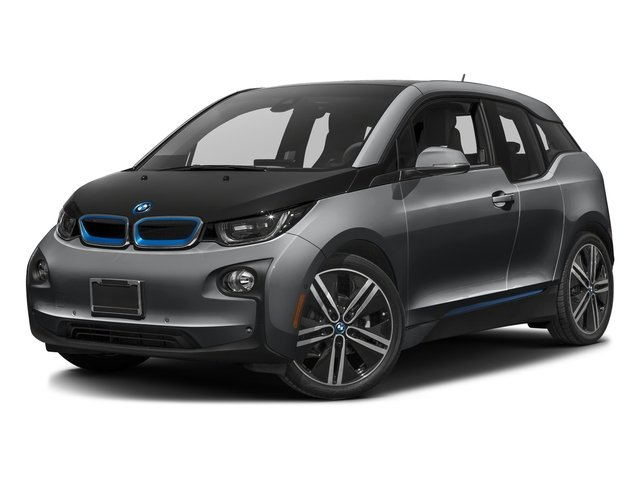 Mineral Gray w/BMW i Frozen Blue Accent 2017 BMW i3 Pictures i3 Hatchback 4D 94 AH w/Range Extender photos front view