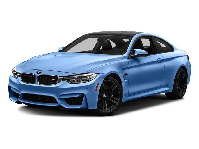 Yas Marina Blue Metallic 2017 BMW M4 Pictures M4 Coupe 2D M4 I6 Turbo photos front view