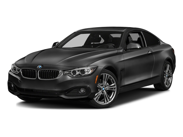 Black Sapphire Metallic 2017 BMW 4 Series Pictures 4 Series Coupe 2D 430xi AWD I4 Turbo photos front view