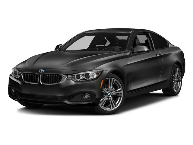 Jet Black 2017 BMW 4 Series Pictures 4 Series Coupe 2D 430xi AWD I4 Turbo photos front view