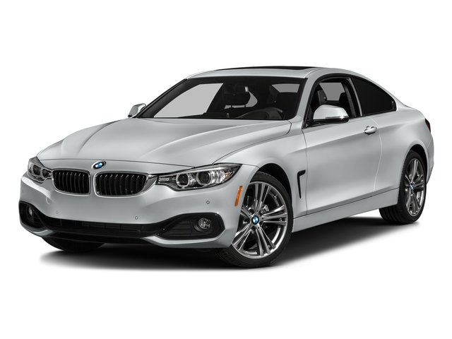 Glacier Silver Metallic 2017 BMW 4 Series Pictures 4 Series Coupe 2D 430xi AWD I4 Turbo photos front view