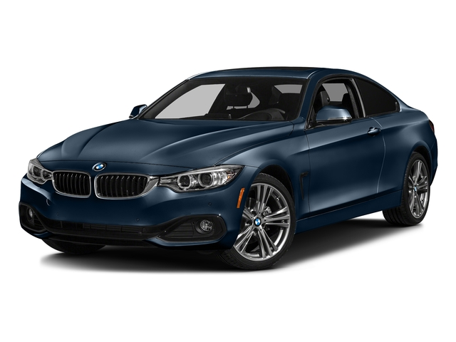 Midnight Blue Metallic 2017 BMW 4 Series Pictures 4 Series Coupe 2D 430xi AWD I4 Turbo photos front view