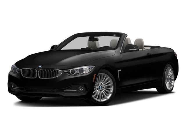 Jet Black 2017 BMW 4 Series Pictures 4 Series Convertible 2D 430xi AWD I4 Turbo photos front view