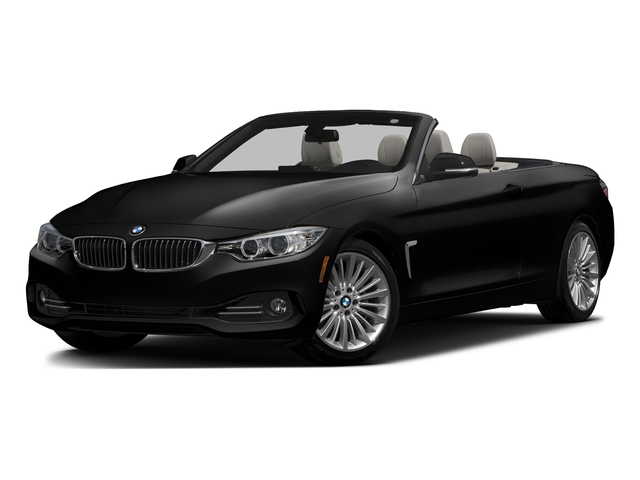 Jet Black 2017 BMW 4 Series Pictures 4 Series Convertible 2D 430i I4 Turbo photos front view