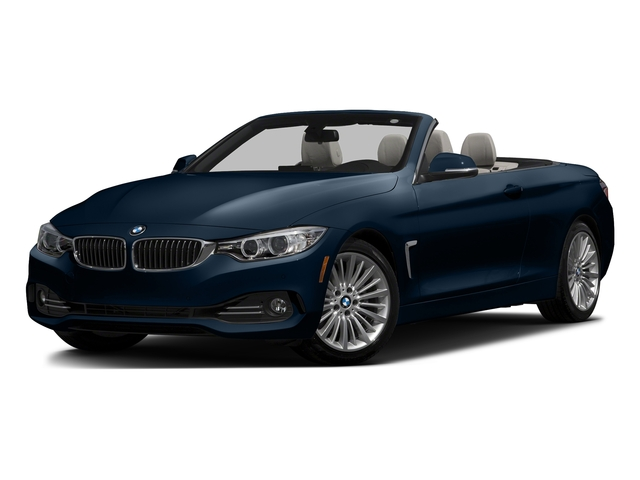 Midnight Blue Metallic 2017 BMW 4 Series Pictures 4 Series Convertible 2D 430i I4 Turbo photos front view