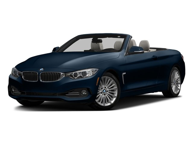 Midnight Blue Metallic 2017 BMW 4 Series Pictures 4 Series Convertible 2D 430xi AWD I4 Turbo photos front view