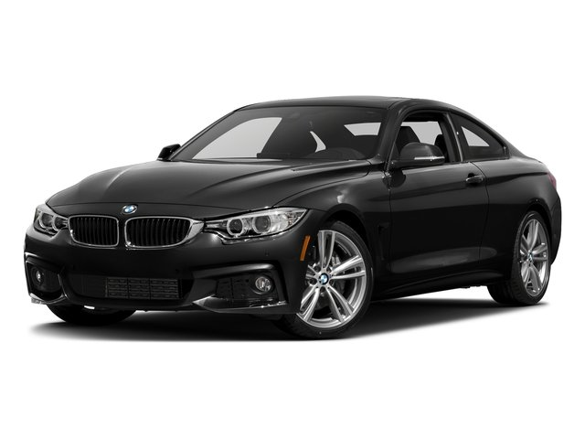 Jet Black 2017 BMW 4 Series Pictures 4 Series Coupe 2D 440i I6 Turbo photos front view