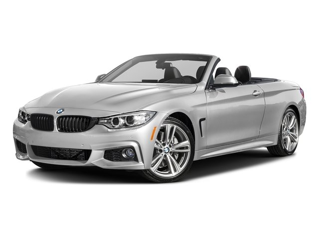 Mineral White Metallic 2017 BMW 4 Series Pictures 4 Series Convertible 2D 440i I6 Turbo photos front view