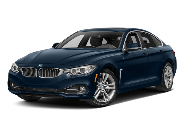 Midnight Blue Metallic 2017 BMW 4 Series Pictures 4 Series Sedan 4D 430xi AWD I4 Turbo photos front view