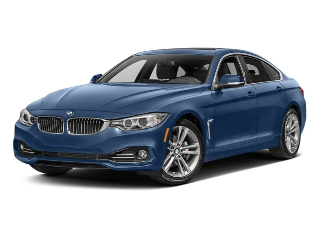 Estoril Blue Metallic 2017 BMW 4 Series Pictures 4 Series Sedan 4D 430xi AWD I4 Turbo photos front view