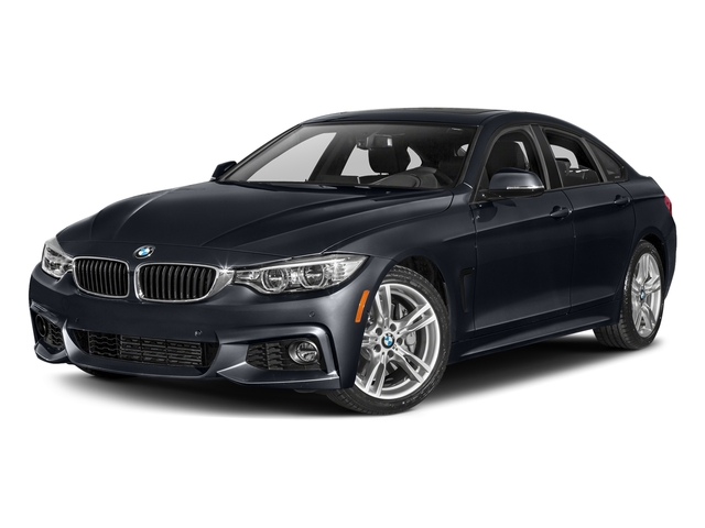 Imperial Blue Metallic 2017 BMW 4 Series Pictures 4 Series Sedan 4D 440i I6 Turbo photos front view
