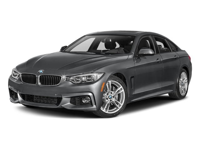 Mineral Gray Metallic 2017 BMW 4 Series Pictures 4 Series Sedan 4D 440i I6 Turbo photos front view