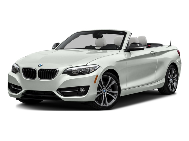 Alpine White 2017 BMW 2 Series Pictures 2 Series Convertible 2D 230xi AWD I4 Turbo photos front view