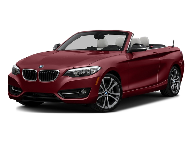 Melbourne Red Metallic 2017 BMW 2 Series Pictures 2 Series Convertible 2D 230xi AWD I4 Turbo photos front view