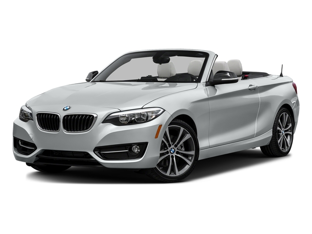 Glacier Silver Metallic 2017 BMW 2 Series Pictures 2 Series Convertible 2D 230xi AWD I4 Turbo photos front view