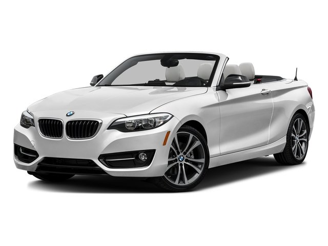 Mineral White Metallic 2017 BMW 2 Series Pictures 2 Series Convertible 2D 230xi AWD I4 Turbo photos front view