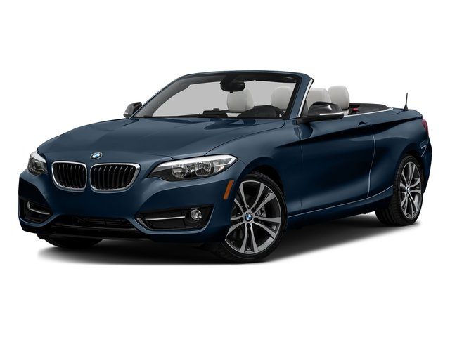 Midnight Blue Metallic 2017 BMW 2 Series Pictures 2 Series Convertible 2D 230xi AWD I4 Turbo photos front view