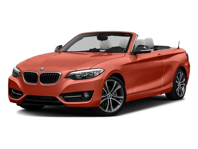 Valencia Orange Metallic 2017 BMW 2 Series Pictures 2 Series Convertible 2D 230xi AWD I4 Turbo photos front view