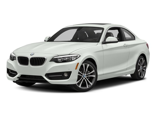 Alpine White 2017 BMW 2 Series Pictures 2 Series Coupe 2D 230xi AWD I4 Turbo photos front view