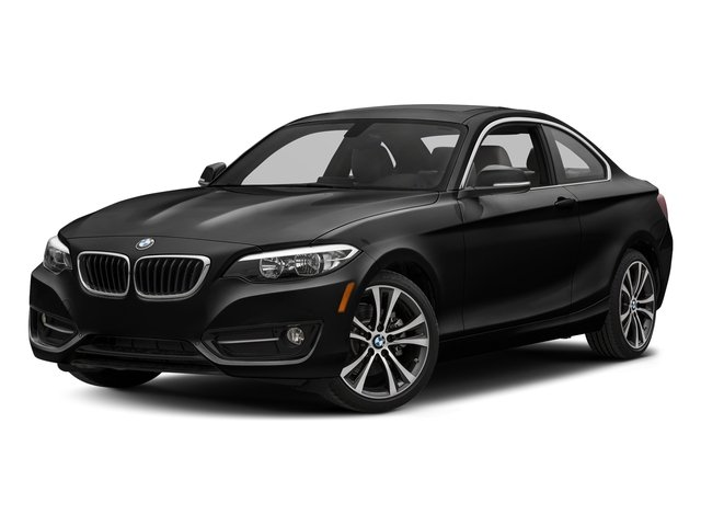 Black Sapphire Metallic 2017 BMW 2 Series Pictures 2 Series Coupe 2D 230xi AWD I4 Turbo photos front view