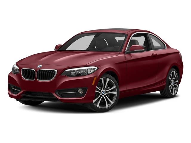 Melbourne Red Metallic 2017 BMW 2 Series Pictures 2 Series Coupe 2D 230xi AWD I4 Turbo photos front view