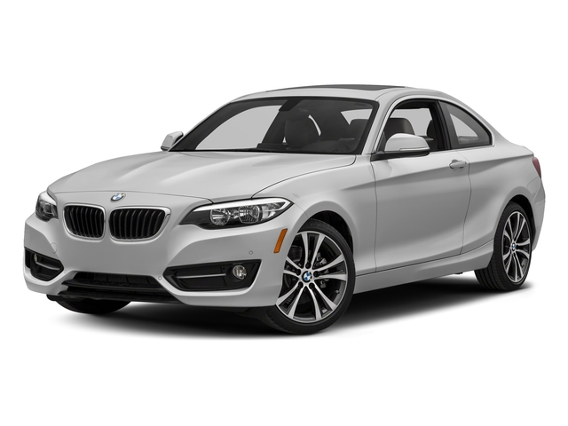 Mineral White Metallic 2017 BMW 2 Series Pictures 2 Series Coupe 2D 230xi AWD I4 Turbo photos front view