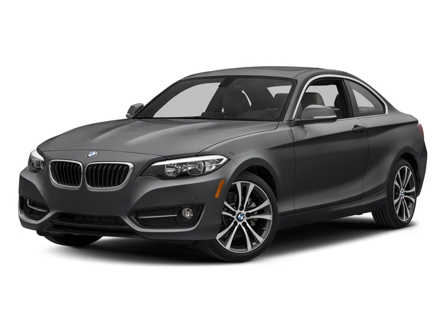 Mineral Gray Metallic 2017 BMW 2 Series Pictures 2 Series Coupe 2D 230xi AWD I4 Turbo photos front view